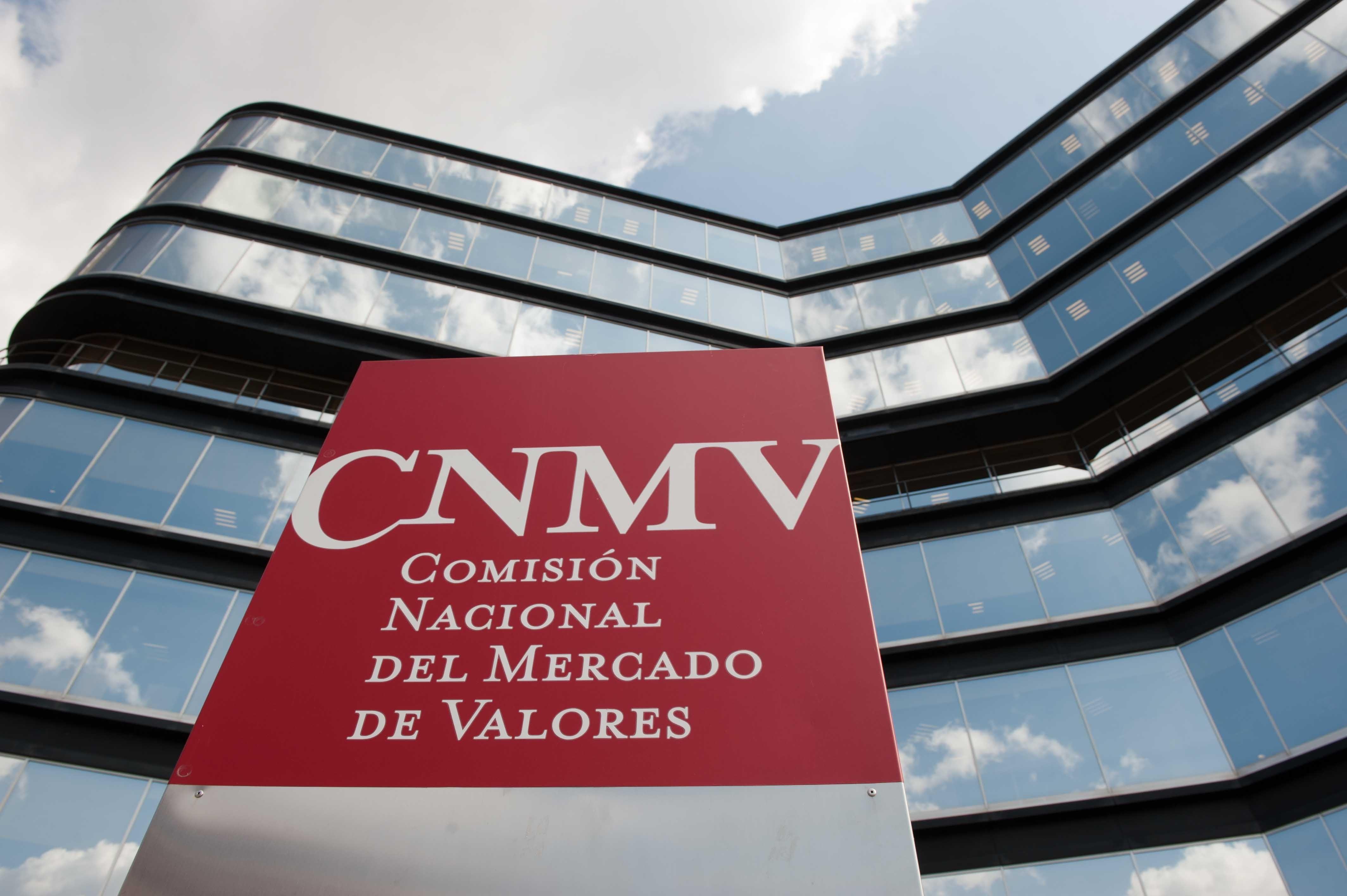 CNMV Comisión Nacional del Mercado de Valores