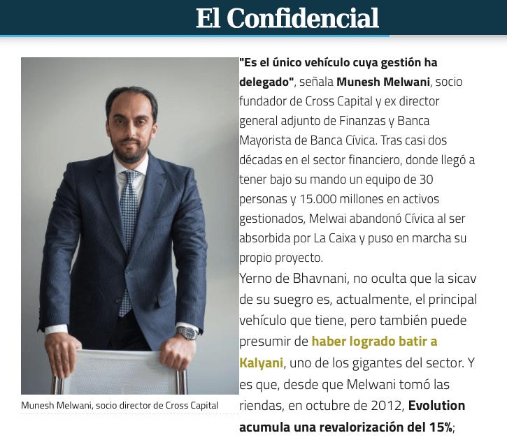 Munesh Melwani - El confidencial