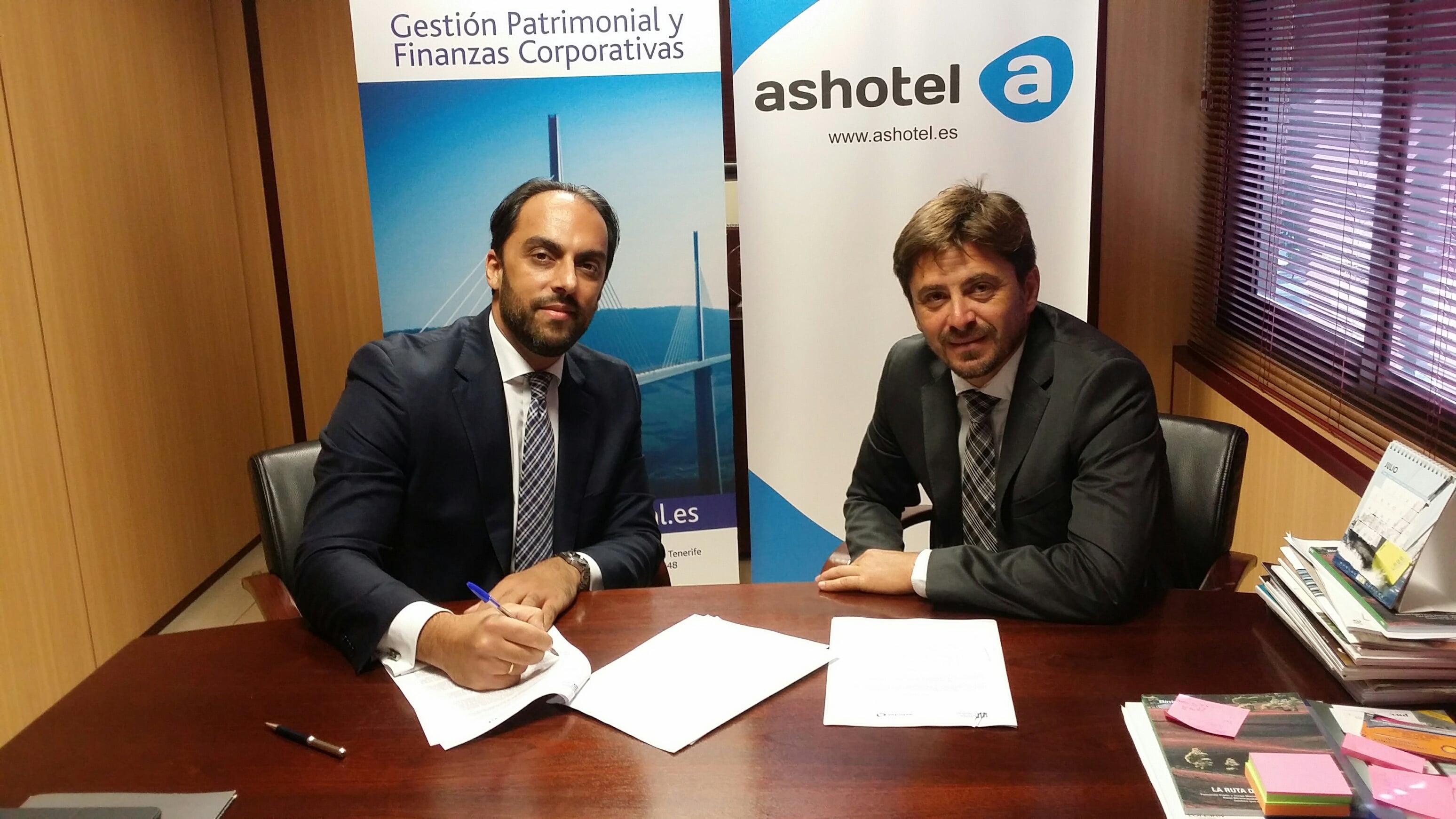 Acuerdo Ashotel - Cross Capital